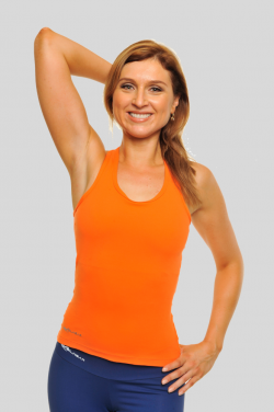 Singlet Action Back [Orange]BW42161