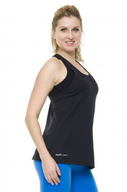 Singlet Action Back [Black] BW42161